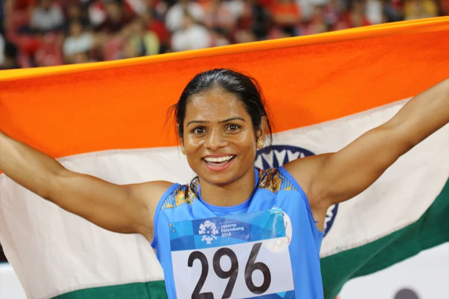 Dutee Chand 'golden girls'