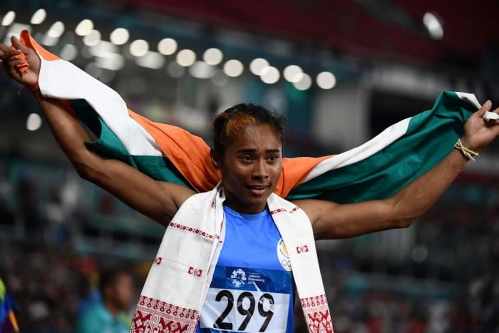 Hima Das 'golden girls'