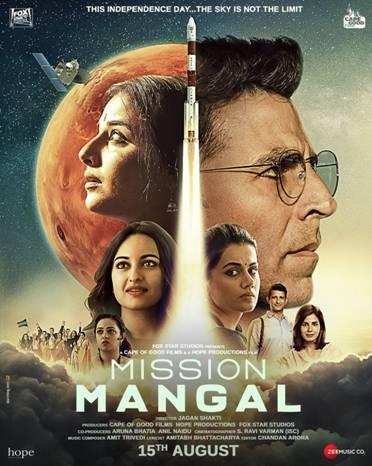 """Mars """"Mission Mangal"""""""