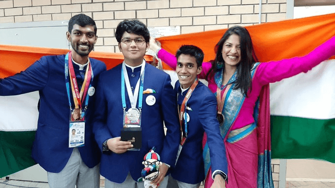 India Shines At The World Skills Competition In Russia
