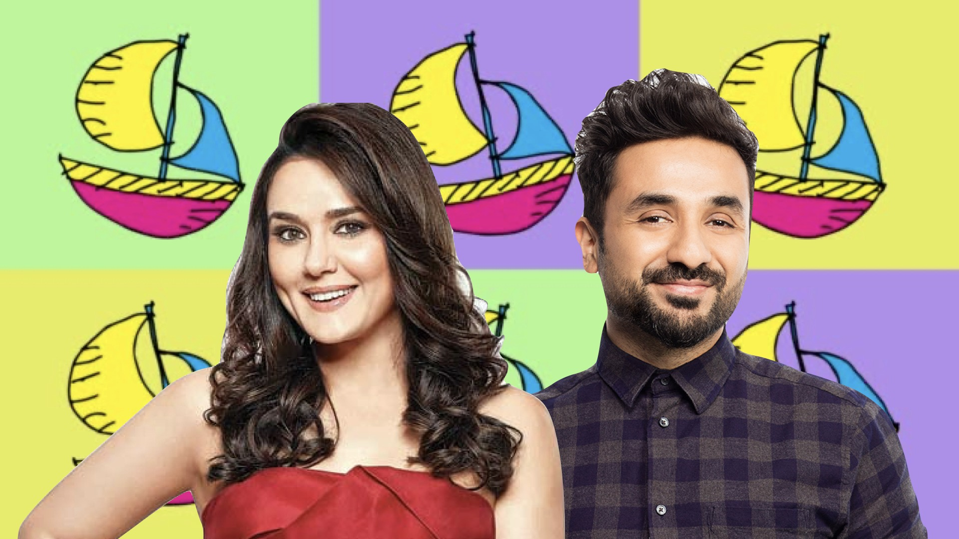 Preity Zinta Vir Das - fresh off the boat
