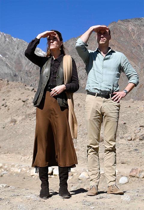 Prince William and Princess Catherine in Pakistan