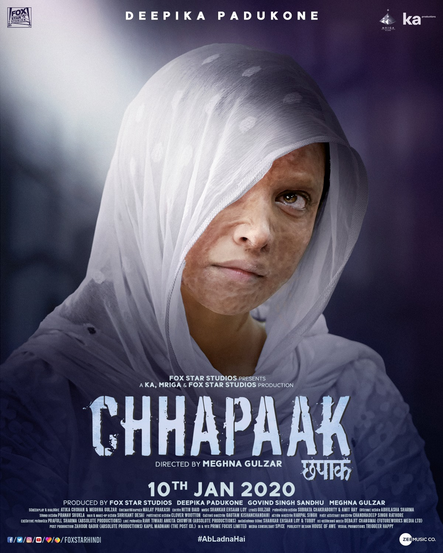 Chhapaak - Deepika Padukone New Movie