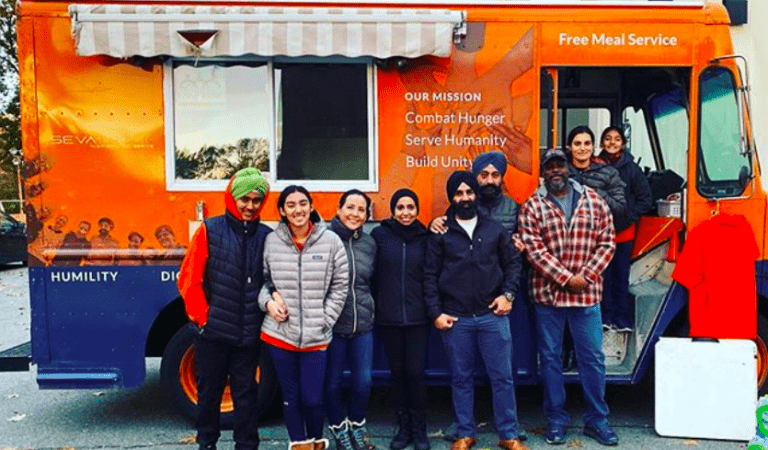 Sikh Man's 'Seva Truck' Feeds Thousands In Washington