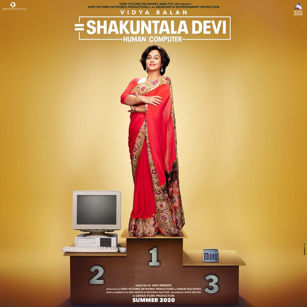 Biopics 2020 - Shakuntala Devi