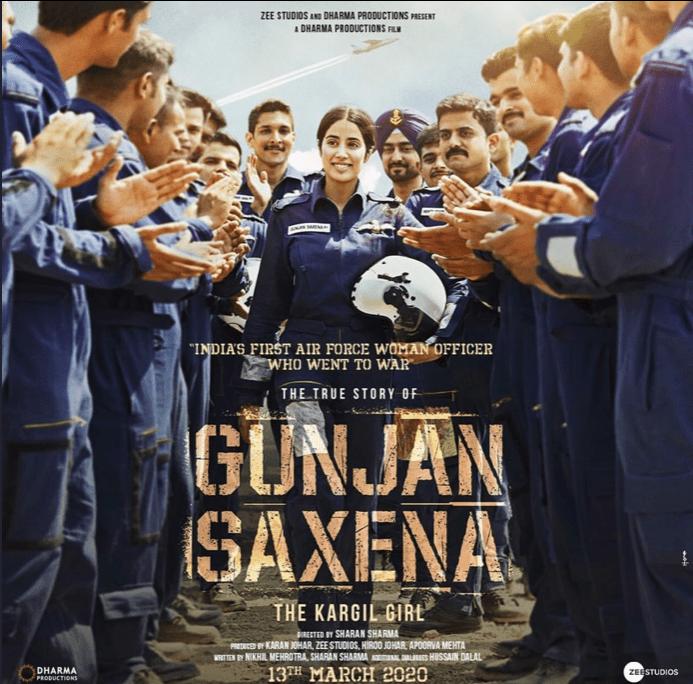 Jahanvi Kapoor Gunjan - 2020 biopics