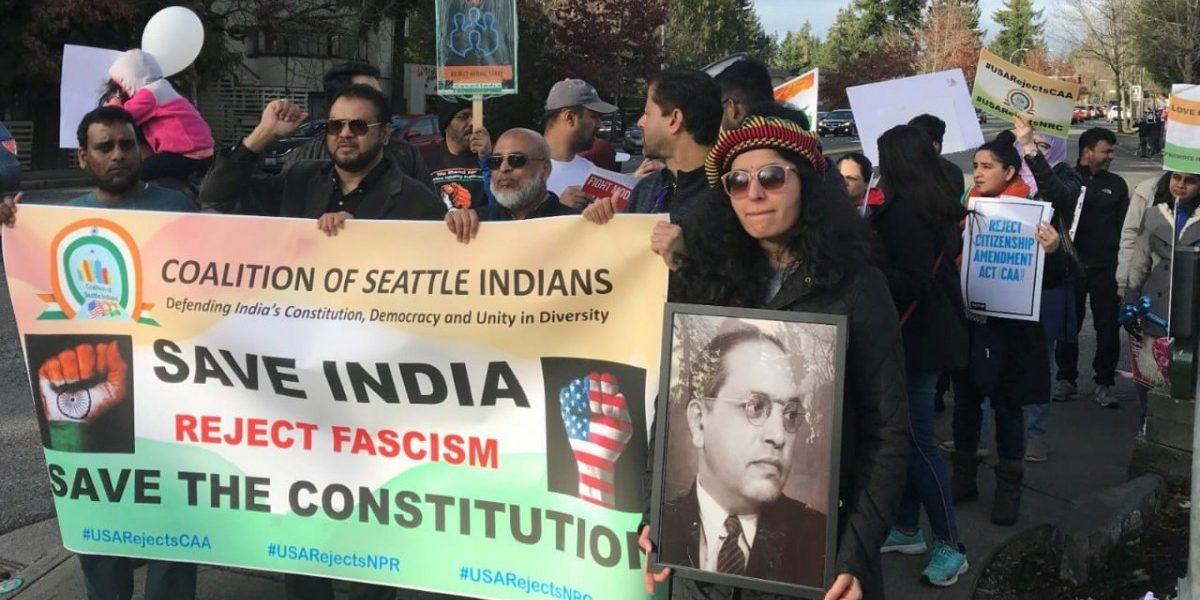 Seattle City Council Protest