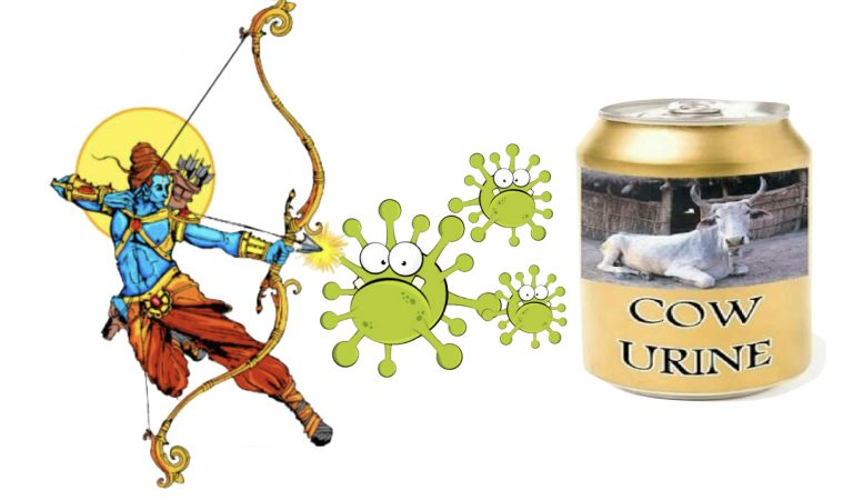 Indian Logic To Fight Corona – Attend Crowded Religious Fairs, Drink Cow Urine, & Have VIP Status
