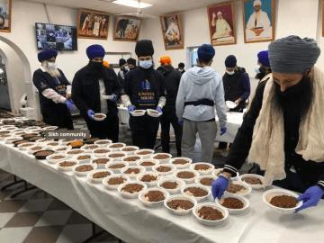 New York Sikh Community Corona Help