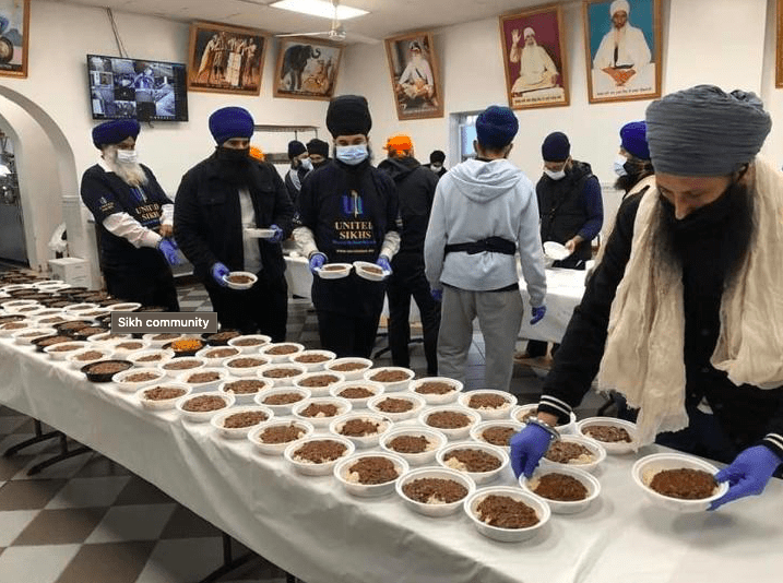 New York Sikh Community Corona Help