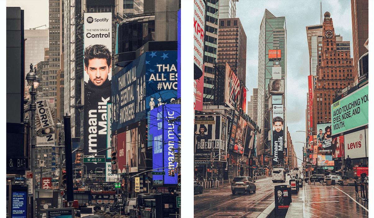 Armaan Malik Billboard