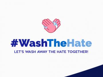 #WashTheHate